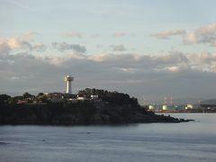 ダブル台風と一緒に、長浜・福井・能登で車中泊(7/17)早朝の雄島をハイキング、金沢の武家屋敷跡は最高気温を記録
