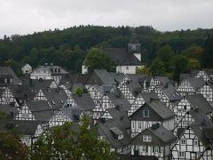 お盆に弾丸でドイツ旅行 その5 モノトーンの静かな街フロイデンベルク