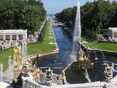 銀婚式旅行:サンクトペテルブルク③-ペテルゴフ・イサク聖堂。