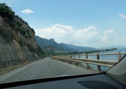 2018.8ギリシアザキントス島,ペロポネソス半島ドライブ旅行4‐KolinthosからDiakoptoへ