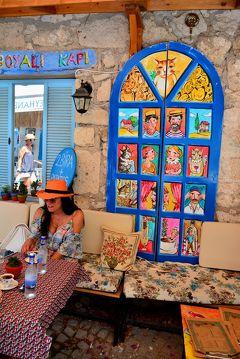 """エーゲ海の眩しい夏色一人旅トルコ&ちょこっとギリシャ Vol.5 トルコ語で風の街""""アラチャトゥ""""に吹く風はスイートドリーミー♪"""