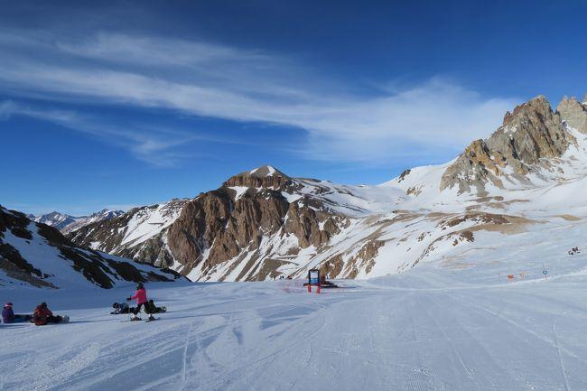 海外スキー おっさん微妙!  アルゼンチンスキーリゾート・ラスレニャスで孤独に滑る旅!