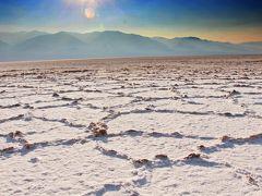 お熱いのがお好き♪塩砂漠はExtreme な灼熱地獄☆更に深く、より暑く…夏は50℃超の耐久レース【(デス・バレーSun Set)  America Geo旅-4】