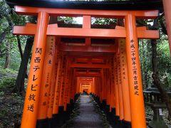 2018年9月 京都観光(朝ラー ~ 祇園Abbessesでランチ ~ 伏見稲荷大社は台風の被害で通行止め ~ はふうでディナー)