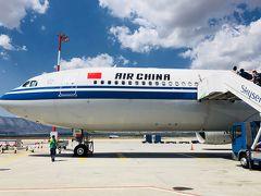 アテネから羽田へ:中国国際航空ビジネスクラス[2018年8月9月ギリシャ7]