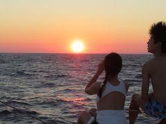 夕日を見に、サントリーニ島へ行こう イア