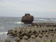 ダブル台風と一緒に、長浜・福井・能登で車中泊(10/17)ヤセの断崖、関野鼻、琴ヶ浜の鳴き砂、ここまでは順調だった