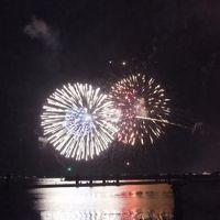 2018年8月 今年もすごかった!琵琶湖大花火大会を最前で見たよ!(本編)