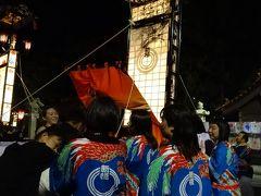 ダブル台風と一緒に、長浜・福井・能登で車中泊(11/17)輪島の祭に出会えた幸運、太鼓の響きに感涙