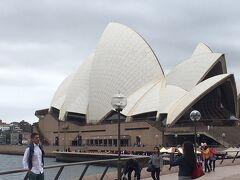 9月のシドニー オペラハウスやハーバーブリッジからシドニー市内へ