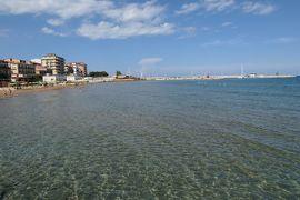 美しき南イタリア旅行♪ Vol.180(第6日)☆Crotone:クロトーネの埠頭から青いイオニア海を眺めて♪