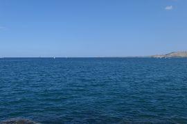 美しき南イタリア旅行♪ Vol.181(第6日)☆Crotone:クロトーネの埠頭先端部からカポコロンナを眺めて♪