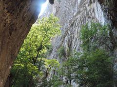 スロベニアからハンガリーの旅 3 シュコツィヤン鍾乳洞