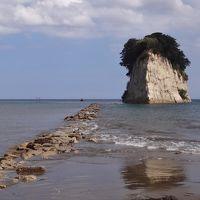 ダブル台風と一緒に、長浜・福井・能登で車中泊(13/17)能登島・・島に泊まりたくて