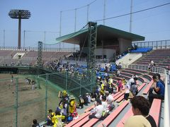 和歌山 紀三井寺球場 オリックス2軍対阪神2軍戦