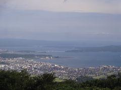 ダブル台風と一緒に、長浜・福井・能登で車中泊(14/17)七尾城址・・郷土を愛する七尾の人達