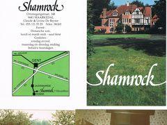 セピア色の思い出:シャクナゲの並木が花盛りだったベルギーのマナーハウスHostellerie Shamrock オステルリー・シャムロックに宿泊した
