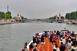 2011 イタリア,フランス10日間 18.フリータイムのパリ散策!〆はセーヌ川クルーズで決まり