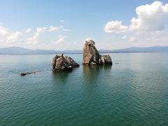 琵琶湖に浮かぶ竹生島・沖島・多景島巡り