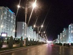 トルクメニスタン・ウズベキスタン 一人旅②(不思議な町 アシハバード)