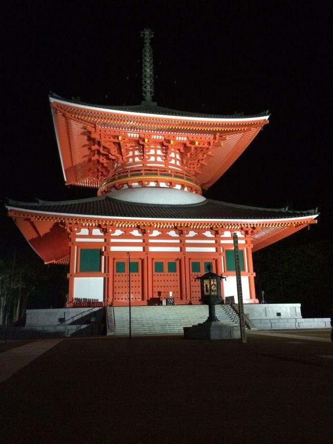 私がいたのは、丁度1200年の年でした。4月でも雪の降る山の上です。お寺を見たり、奥の院に行ってお坊さんに弘法大師の教えの意味を教わったり。