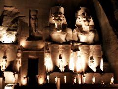 神秘のエジプト幻想紀行10日間 #3/アブ・シンベル神殿②/夜も朝も魅了されました