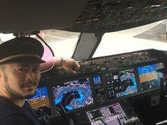 エティハド航空787-900 ファーストクラスで行くアブダビ