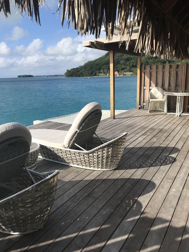 新婚旅行で訪れたボラボラ島。<br />昔からずっと行きたいと思ってた島に行けて幸せです。