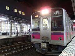 2018.09 ワープ三昧東北18切符旅行(8)羽越本線・701系ロングシートで酒田へ
