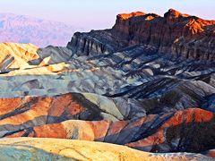 荒野に宿る クリスタルの蕾★Death Valley 朝駈けタイム・トライアル【(デス・バレーSun Rise) America Geo旅-5】