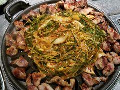 釜山でティッコギを食べる