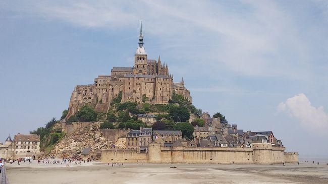 フランスツアーひとり旅《2日目~3日目:モンサンミッシェル観光①(聖堂入場までの散策編)》