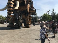 フランスでドライブ旅行2018 ⑪ナント~Ⅱ 大興奮のレ マシーン ド リル!