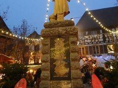 アルザス・黒い森・ライン川沿い「クリスマスマーケット巡り」の旅【7】(作成中)エッギスハイムで散策へ