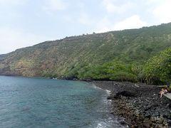 ハワイ島(19)ハワイアンの聖地・ケアラケクア湾のヒキアウヘイアウ
