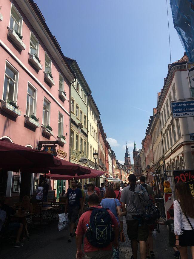 夏休み、ドイツの友人の家に遊びに行きました!<br />歴史を感じる建造物は本当に綺麗でかわいく、歩いているだけで楽しめます◎<br />フードも充実で、美味しいビール片手に色んなものを食べました。ソーセージ、プレッツェルだけじゃないんです!沢山のドイツ料理を堪能することができます。