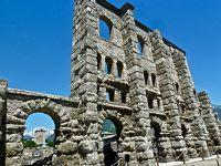 美しき北イタリア  【8】「アルプスのローマ」 と呼ばれる アオスタへ行ってきました♪