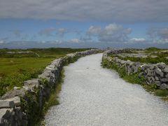 アイルランドで夏休み 5 断崖絶壁に眠る古代遺跡へ! in イニシュモア島