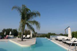 美しき南イタリア旅行♪ Vol.216(第7日)☆Pisticci:ホテルマッセリア「Torre Fiore」美しいプールで優雅な遊泳♪