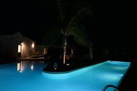 美しき南イタリア旅行♪ Vol.219(第7日)☆Pisticci:ホテルマッセリア「Torre Fiore」夜のプールは美しい♪