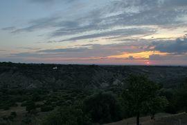 美しき南イタリア旅行♪ Vol.224(第8日)☆Pisticci:ホテルマッセリア「Torre Fiore」スイートルームから朝の風景♪