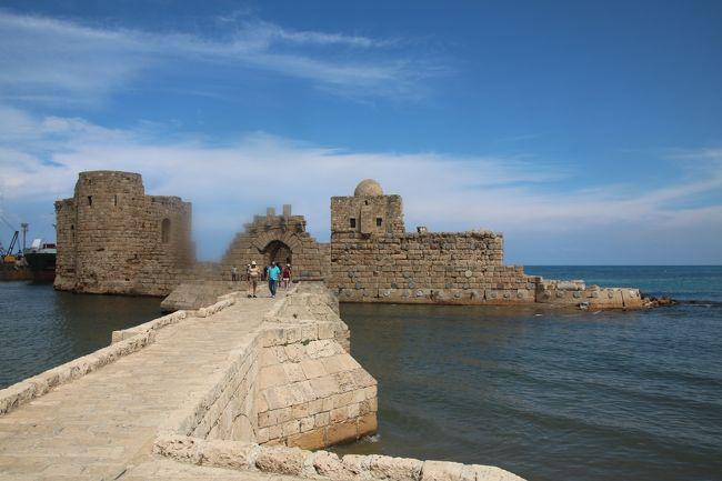 レバノンの世界遺産・遺跡を訪ねる旅 その④ サイダ編