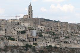 美しき南イタリア旅行♪ Vol.242(第8日)☆Matera:マテーラの穴場なパノラマスポットから大聖堂のサッシ風景♪