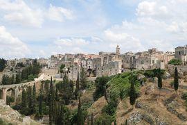 美しき南イタリア旅行♪ Vol.248(第8日)☆Gravina in Puglia:廃墟の教会と周囲の絶景パノラマ♪