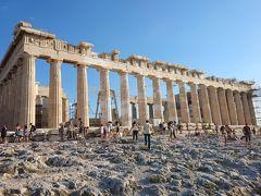 永遠ブルーの空 ギリシャ(1) 悠久の時を刻むアテネのアクロポリスの丘