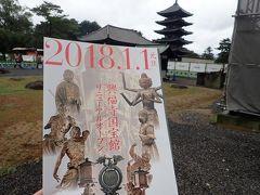 秋の奈良(10)興福寺五重塔と国宝阿修羅像