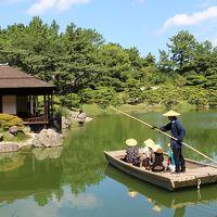 秋雨前線を回避して*四国*香川の栗林公園へ