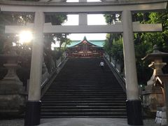 2018年9月18日 東京サイクリング 赤坂・日枝神社