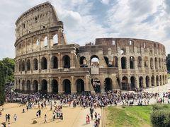 遺跡というか廃墟というか:コロッセオ、フォロロマーノ、パラティーノの丘、パンテオン[2018年9月10月世界一周特典航空券の旅11]