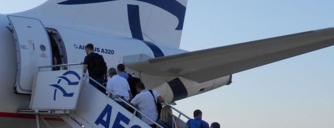 2018SEPギリシャ・テサロニキ・A3エーゲ航空...